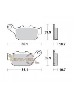 Plaquettes de Frein Arrière pour Honda XLV 600 Transalp 1997-1999 SBS 614LS