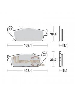 Plaquettes de Frein Avant pour Honda CBF 600 N-S 2004-2007 SBS 627HS