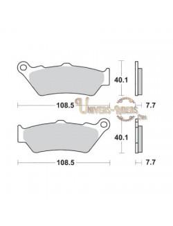 Plaquettes de Frein Avant pour BMW G 650 Sertao / ABS 2012-2015 SBS 674HS