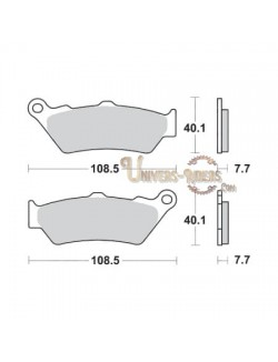 Plaquettes de Frein Avant pour BMW F 800 GS 2007-2015 SBS 674HS