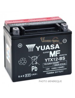 Batterie Yuasa YTZ10-S pour Aprilia RSV4 Factory APRC, Se (ABS) 2014-2015