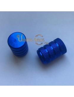 Bouchons de valves Nola Bleu (paire)