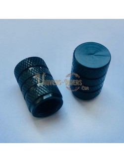 Bouchons de valves Nola Noir  (paire)