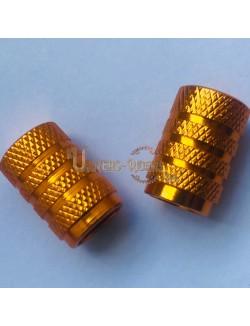Bouchons de valves Nola Or (paire)