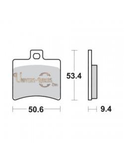 Plaquettes de Frein Arrière pour Aprilia RS 125 2006-2012 SBS 152HF