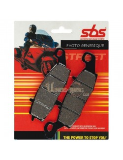 Plaquettes de Frein Arrière pour Aprilia Tuareg 125 Wind 1990-1992 SBS 692HF