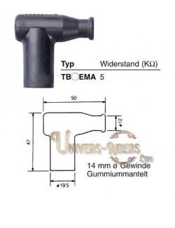 Capuchon antiparasite NGK TB05EMA [8636]