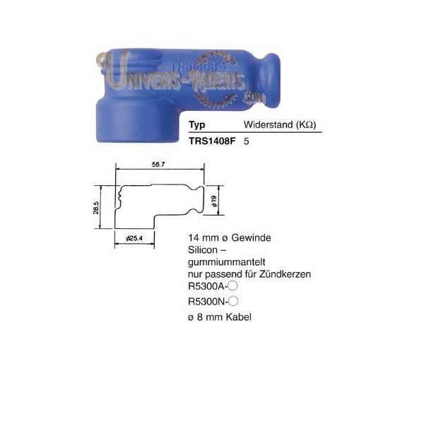 Capuchon antiparasite NGK TRS1408F [8871]