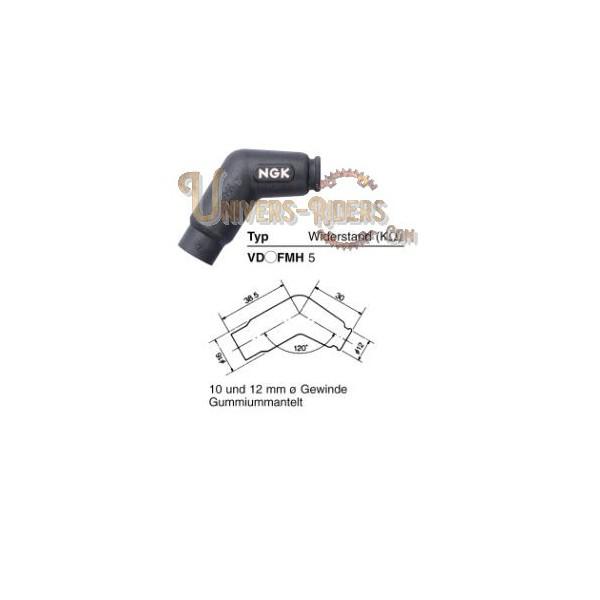 Capuchon antiparasite NGK VD5FMH [8425]
