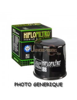 Filtre à Huile Moto Hiflofiltro HF161 pour BMW R 60/6 1974-1976