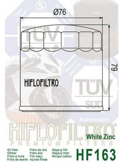 Filtre à Huile Moto Hiflofiltro HF163 pour BMW K 75 C 1985-1988