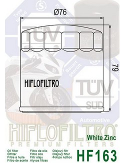 Filtre à Huile Moto Hiflofiltro HF163 pour BMW K 75 1987-1996