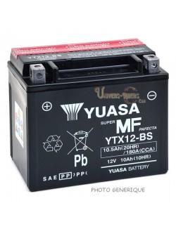 Batterie Yuasa YTZ10-S pour Aprilia Tuono 1000 V4 RR 2015-2019
