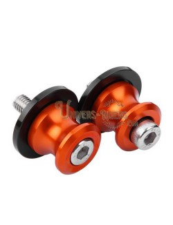 Diabolos motos Riders orange diamètre 10mm