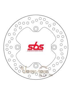 Disque de frein moto Avant pour Honda CBR 125 R 2011-2019 SBS 5110