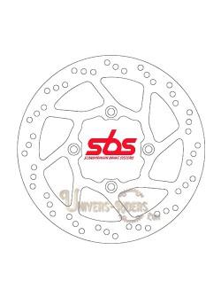 Disque de frein moto Avant pour Honda XL 125 V Varadero 2001-2013 SBS 5129