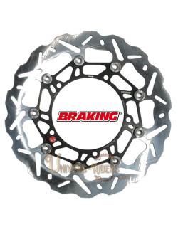 Disque de frein moto Avant Gauche Braking Wave pour Honda CBR 1000 R Fireblade SP et ABS 2014-2016