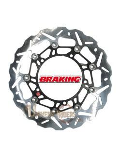 Disque de frein moto Avant Droit Braking Wave pour Honda CBR 1000 R Fireblade SP et ABS 2014-2016