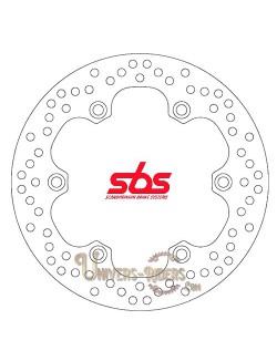 Disque de frein moto Arrière pour Honda Honda XL 1000 V Varadero ABS 2004-2013 SBS 5105