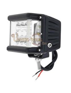Optique LED Raid universel pour moto quad, ssv