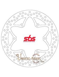 Disque de frein moto Avant pour Yamaha XV 250 S Virago 1995-2000 SBS 5087