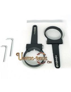"""Paire de fixations pour tube - 41 mm (1,6"""")"""