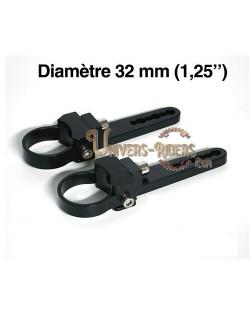 """Paire de fixations pour tube - 32 mm (1,25"""")"""