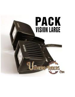 Optiques WORK-PRO Vision Large + Fixations Quad (paire)