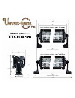 Rampe LED ETX-PRO 120