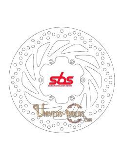 Disque de frein moto Avant pour Aprilia ETX 350 Tuareg Wind 1987-1990 SBS 5088