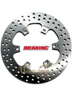 Disque de frein moto Arrière Braking Rond pour Aprilia Pegaso 650 Factory 2007-2012