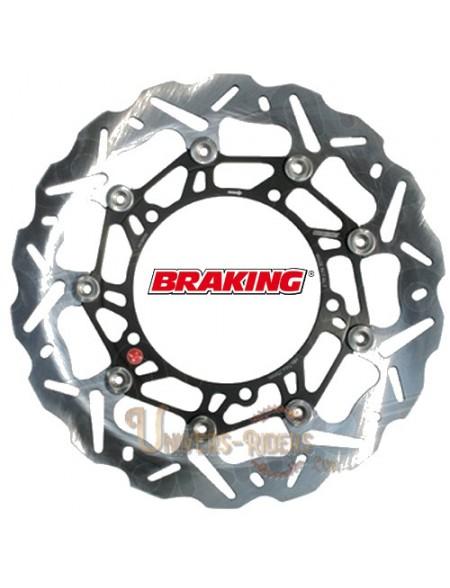 Disque de frein moto Avant Droit Braking Wave pour Aprilia NA 850 Mana GT 2008-2014