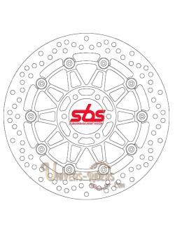 Disque de frein moto Avant pour Aprilia RST 1000 Futura 2001-2004 SBS 5090