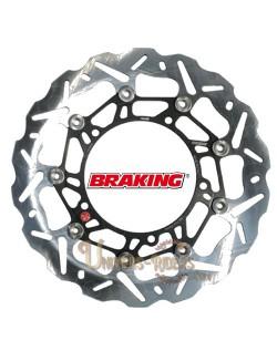 Disque de frein moto Avant Gauche Braking Wave pour Aprilia RST 1000 Futura 2001-2004
