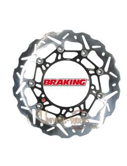 Disque de frein moto Avant Droit Braking Wave pour Aprilia RST 1000 Futura 2001-2004