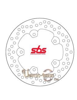 Disque de frein moto Arrière pour Aprilia RSV 1000 Tuono R Factory 2004-2011 SBS 5058