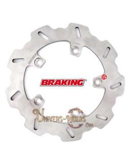 Disque de frein moto Arrière Braking Wave pour Aprilia RSV 1000 Tuono R Factory 2004-2011