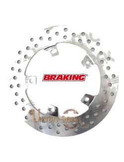 Disque de frein moto Arrière Braking Rond pour Aprilia RSV4 1000 Factory 2009-2014