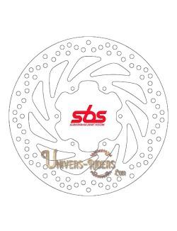 Disque de frein moto Avant pour BMW F 650 GS 2001-2007 SBS 5038