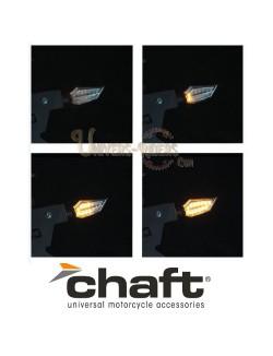 Clignotants LED Séquentiels Homologués 2.0 Return Noir/Fumé