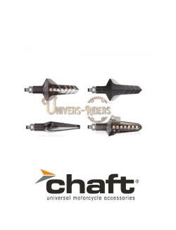 Clignotants LED Séquentiels Homologués 2.0 Wapon Noir/Fumé
