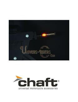 Clignotants LED Séquentiels Homologués 2.0 Melten Noir/Fumé