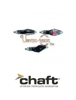Clignotants Ampoule Homologués Chapter Noir/ Blanc