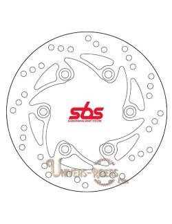 Disque de frein moto Arrière pour  KTM Duke 125 2011-2012 SBS 5053