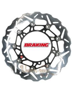 Disque de frein moto Avant Droit Braking Wave pour Benelli TNT 899 / Sport 2007-2014