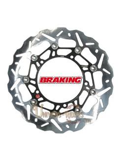 Disque de frein moto Avant Gauche Braking Wave pour Benelli TNT 1130 2004-2007