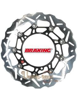Disque de frein moto Avant Gauche Braking Wave pour Benelli TNT 1130 Sport / Evo 2005-2014