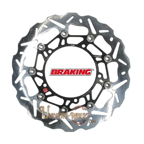 Disque de frein moto Avant Droit Braking Wave pour Benelli TNT 1130 Sport / Evo 2005-2014