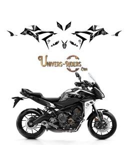 Kit Deco UP MAXIMIZE pour Yamaha Tracer 900 2015-2018 Gris-Jaune