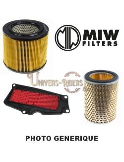 Filtre à air moto Miw pour Motoguzzi V11 Sport 1100 1998-2001